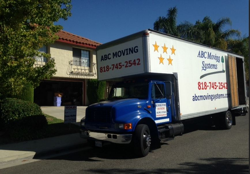 Household Moving Truck Movers Los Angeles 818 745 2542